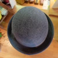 【GRACE】FORK BOWLER HAT TH140 L.GY